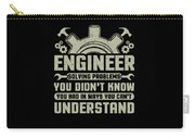 Engineer Problem Solver Engineering Career Carry-all Pouch