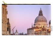 Evening Light In Venice Carry-all Pouch by Susan Leonard