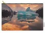Sunset On Iceberg Carry-all Pouch