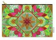 Flower Garden Mandala Carry-all Pouch