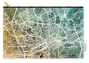 Frankfurt Germany City Map Carry-all Pouch