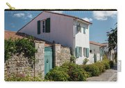 french houses in the streets of Saint Martin de re Carry-all Pouch