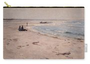 From The Beach At Sele  Carry-all Pouch