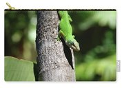 Green Lizard Carry-all Pouch