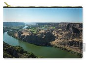 Green Snake River Carry-all Pouch