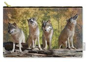Howling Wolves Carry-all Pouch