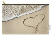 I Love The Beach Carry-all Pouch