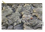 Lava Peeking At Us Carry-all Pouch by Jim Thompson