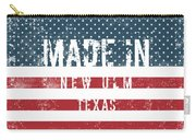 Made In New Ulm, Texas Carry-all Pouch
