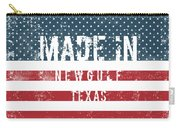 Made In Newgulf, Texas Carry-all Pouch