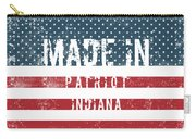 Made In Patriot, Indiana Carry-all Pouch