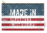 Made In Peytona, West Virginia Carry-all Pouch