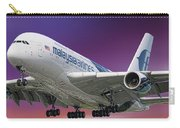 Malaysia Airlines Airbus A380-841 Carry-all Pouch