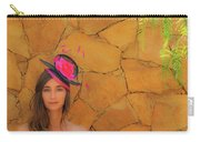 Mamin With Hat Carry-all Pouch