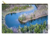 Manistee River Bend From Above Carry-all Pouch