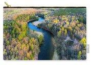 Manistee River From Above In Spring Carry-all Pouch