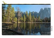 Merced River Reflection, Yosemite National Park Carry-all Pouch