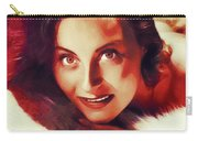 Michele Morgan, Vintage Actress Carry-all Pouch