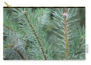 Moist Pine Tree Leaves With Water Droplets. Carry-all Pouch