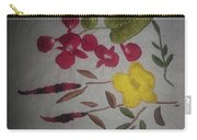 Moms Hand Embroidery Carry-all Pouch