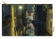 Night Walk In Venice Carry-all Pouch