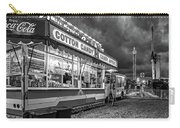 On The Midway - Temptations Of The Night 4 Bw Carry-all Pouch