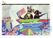 Patriotic Puppies Carry-all Pouch