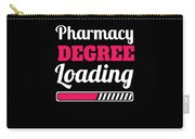 Pharmacy Degree Loading Student Pharmacist Apparel Carry-all Pouch