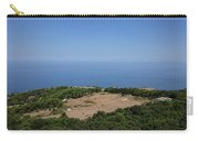 Photography View Over The Mountain Village Erice In Sicily Carry-all Pouch