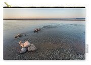 Platte River Mouth At Sunset Carry-all Pouch