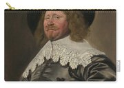 Portrait Of A Man  Possibly Nicolaes Pietersz Duyst Van Voorhout  Carry-all Pouch