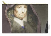 Portrait Of An Old Woman  Carry-all Pouch