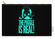 Puggle Is Real Funny Humor Pug Dog Lovers Carry-all Pouch