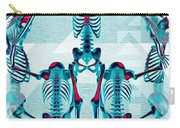 Pulchra Mors / Rgb Geometric Carry-all Pouch