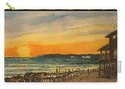 Sunset On Bradenton Beach, Fl. Carry-all Pouch