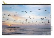 Sunset On The Beach Carry-all Pouch