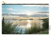 Sunset On The Elbe Carry-all Pouch