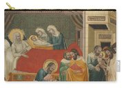 The Birth, Naming, And Circumcision Of Saint John The Baptist Carry-all Pouch