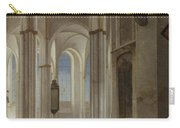 The Interior Of The Buurkerk At Utrecht  Carry-all Pouch