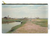 The River And The Harbour At Frederiksvaerk Carry-all Pouch