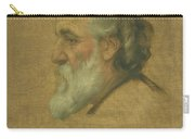 Title Sketch Of Alphonse Legros Carry-all Pouch