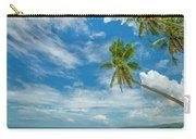Tropical Beach, Siquijor Island Carry-all Pouch
