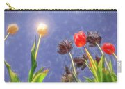 Tulips, Tulips, Tulips Carry-all Pouch by Susan Leonard
