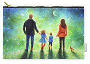 Twilight Walk With Mom And Dad Carry-all Pouch
