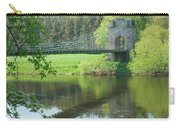 Union Bridge At Horncliffe On River Tweed Carry-all Pouch