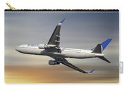 United Airlines Boeing 767-322 Carry-all Pouch