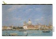 Venice, Santa Maria Della Salute From San Giorgio - Digital Remastered Edition Carry-all Pouch