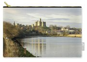 Warkworth Castle And River Aln Carry-all Pouch