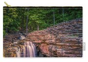 Waterfall At Top Of The Rock Carry-all Pouch by Allin Sorenson