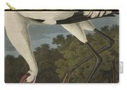 Whooping Crane  From The Birds Of America  Carry-all Pouch